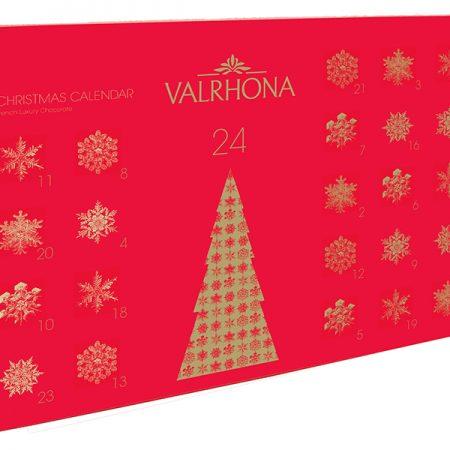 Valrhona_Chokoladejulekalender_fransk luksus chokolade