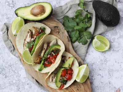 Tacos med kylling - udb. lår
